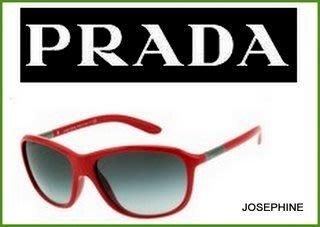 喬瑟芬【PRADA】10春夏紅色墨鏡/太陽眼鏡SPR08M OBU-3M1~夏季出清特價$10800