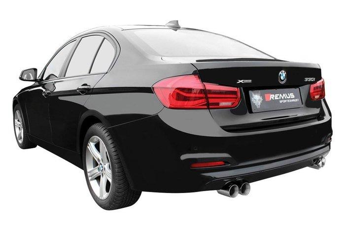 【樂駒】BMW 330i 430i REMUS B48 四出型 中尾段 排氣管 引擎 改裝 套件 精品 排氣 系統