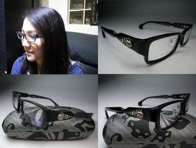 信義計劃眼鏡 Bonkers 日本製 Chrome 色骷髏頭 膠框 有鼻墊方框 to catch your hearts