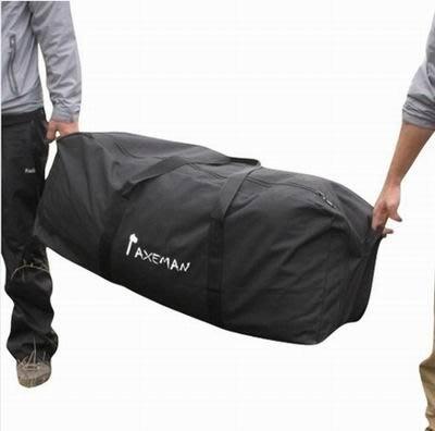 【戶外旅行裝備袋-XL貼袋款-90*40*30cm-1套/組】1000D防水牛津布自駕車戶外旅行托運袋旅行袋-76012