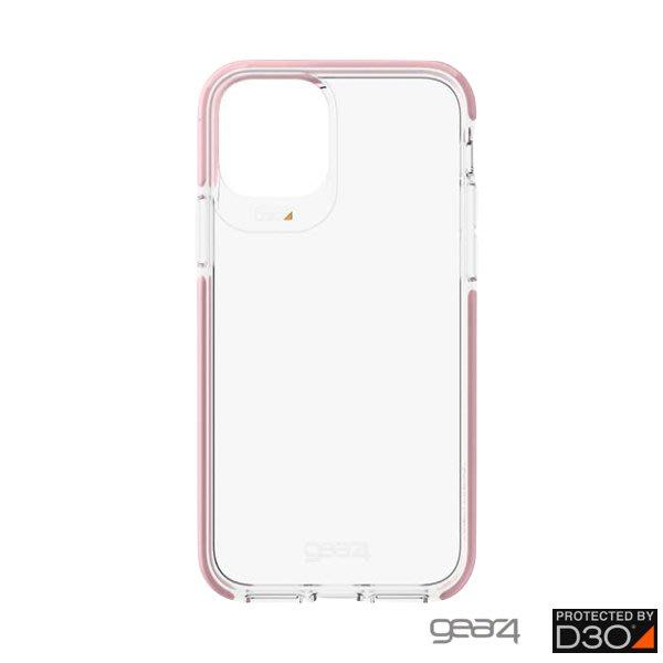 超 免運 Gear4 Piccadilly iPhone 11 Pro Max (6.5吋)透明防摔保護殼 粉框 防摔殼