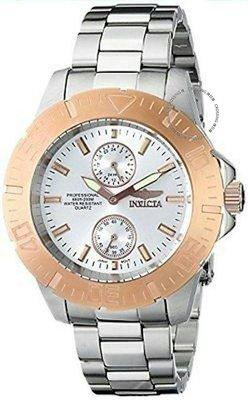 展示品 Invicta 14057 Pro Diver Ocean Baron Rose tone Accents Stainless Steel M