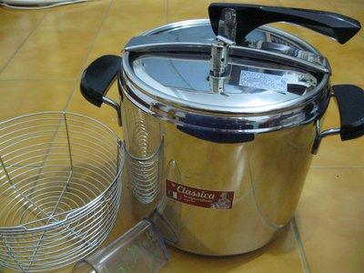 Lagostina義大利樂鍋史蒂娜 Brava Casa 12公升壓力鍋(快鍋)