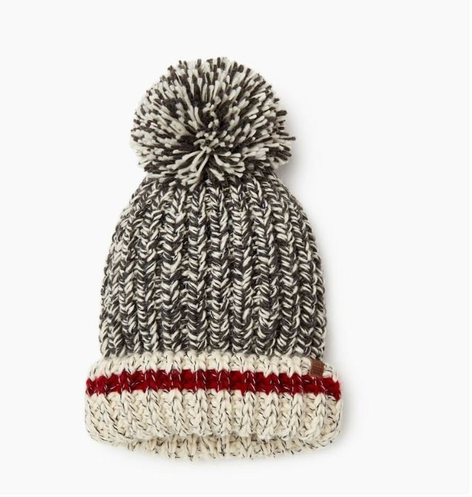 ~☆.•°莎莎~*~~☆~加拿大 ROOTS  Chunky Cabin Toque 毛帽 ~