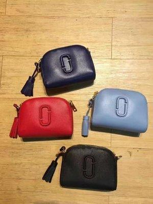 ╭☆包媽子店☆Marc Jacobs Shutter Small Camera Bag 流蘇相機包 紅色熱賣中(天藍色)
