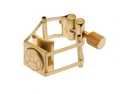 §唐川音樂§【FRANCOIS LOUIS PURE BRASS GOLD 高音束圈】(比利時)鍍金 現貨