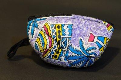 【甲殼哥】西非『手工花布零錢包』非洲裁縫原創手作