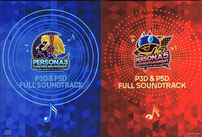 (超取免運)女神異聞錄 星夜熱舞 月夜熱舞 P3D P5D FULL SOUNDTRACK 全曲目 音樂原聲帶 4CD入
