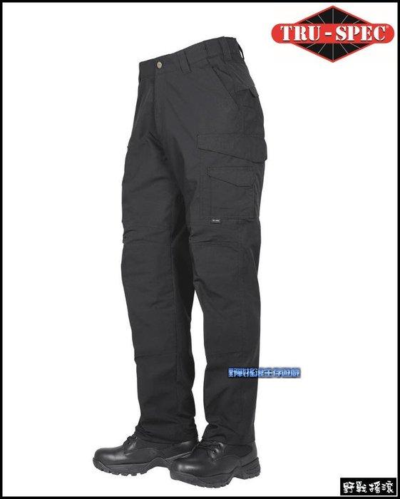 【野戰搖滾】美國 TRU-SPEC 24-7 PRO FLEX 戰術長褲【黑色】 迷彩褲勤務褲工作褲特勤軍警戰術褲特警褲