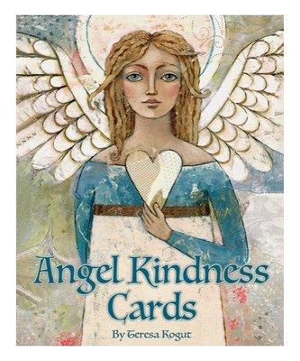 【預馨緣塔羅鋪】現貨正版天使良善卡Angel Kindness Cards(全新52張)