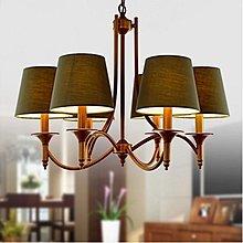 COVER 三頭 布罩鐵藝吊燈 北歐 簡約 復古 宜家 客廳燈 餐廳燈 E14 110-220V