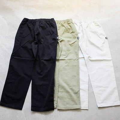 【車庫服飾】STUSSY BRUSHED BEACH PANT 長褲 素面小標 彈性伸縮 休閒長褲