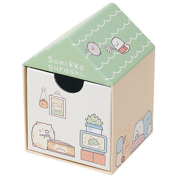 ^燕子部屋 ^ 正版San-X 【 角落公仔】角落房屋造型置物盒 飾品盒 -綠 (小)