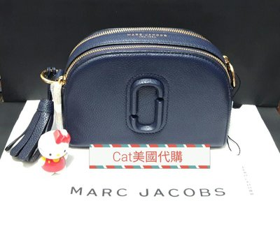 優惠現貨~全新MARC JACOBS Shutter 款深藍色半月包~特價$6999含運(歐陽妮妮同款)超熱賣缺貨款式,不需等待