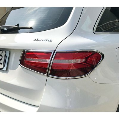 【JR佳睿精品】Benz GLC300 GLC43 2015-18 鍍鉻後燈框 尾燈框 電鍍 精品 百貨 配件 改裝
