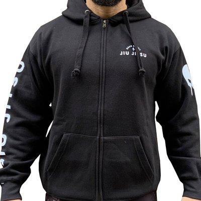 【神拳阿凱】Grab & Pull 黑色 X 柔術概念帽衫