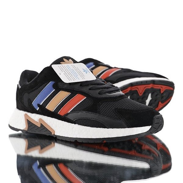 Washoes adidas Originals TRESC RUN 黑 藍橘粉紅 EF0768 鹿晗 慢跑鞋 男鞋05