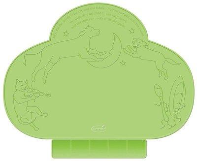 美國Summer Infant Tiny Diner 可攜式防水學習餐墊(綠色)~現貨