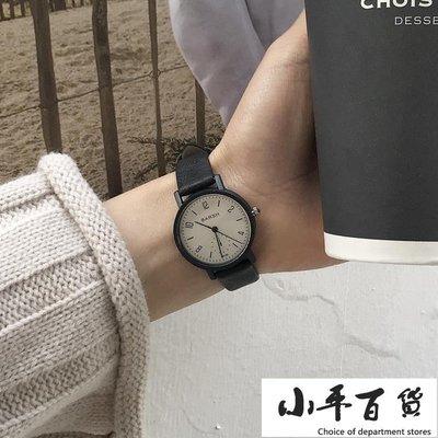 手錶超火的女學生正韓簡約復古潮流小清新休閒百搭【小平百貨】