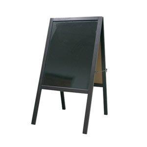【勁媽媽】020311 成功 落地式木框雙面彩繪板(大)110x50cm   活動 廣告 看板