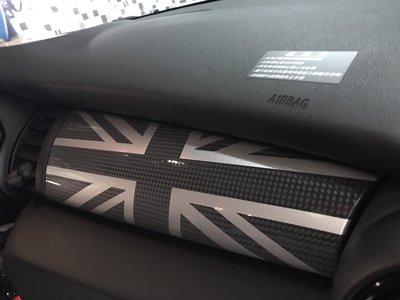 波仕特 MINI 英國國旗 內裝貼紙