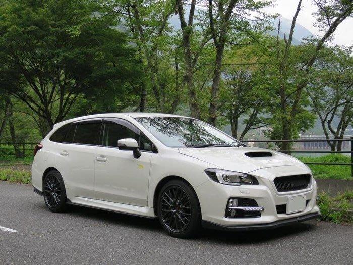 Subaru 速霸陸 Levorg VM4 可流用 日規 黑色 外水切 2015+ 專用