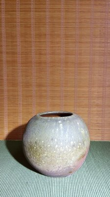 (店舖不續租清倉大拍賣)黃大安先生--柴燒小甕,原價25000元特賣價13000元