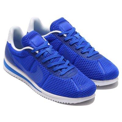 =CodE= NIKE CORTEZ ULTRA BR 3M反光網孔阿甘慢跑鞋(藍白) 833128-401 復古 男 台北市