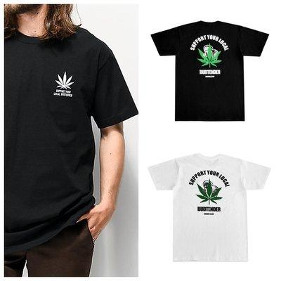 Cover Taiwan 官方直營 Lurking Class 420大麻葉 骷髏 短Tee 短袖 黑色 白色 (預購)