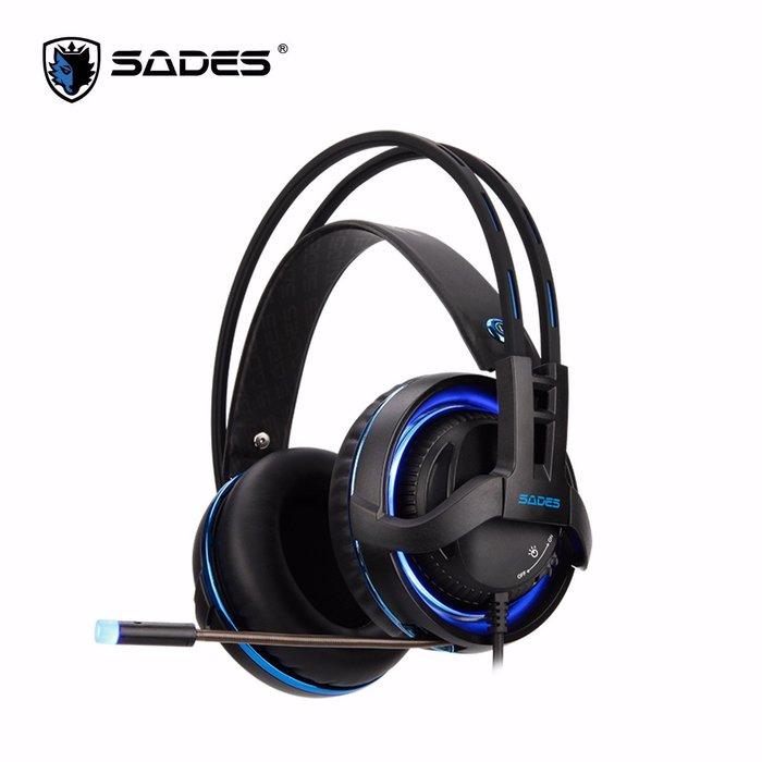 【鳥鵬電腦】SADES 賽德斯 SA-916 Diablo 暗黑鬥狼 RGB REALTEK 電競耳麥 USB 公司貨