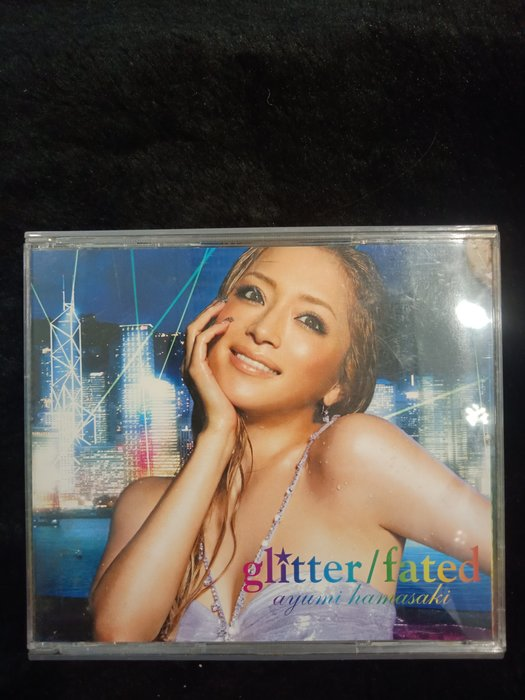 濱崎步 Ayumi hamasaki - glitter 閃耀 - 2007年CD+DVD版 9成新 - 201元起標