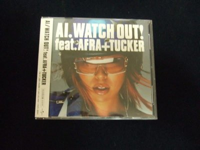 AI / Watch Out!Feat. Afra+ Tucker (單曲+DVD進口限定盤)(特價299元免運費)