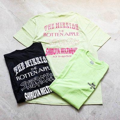 【車庫服飾】HUF HOODS S/S TEE  短t 前小後大 文字款 短袖 T恤