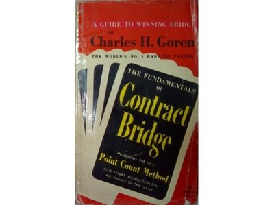 【黃藍二手書 原文橋牌書】《THE FUNDAMENTALS OF Contract Bridge》PERMABOOKS│Charles H. Goren