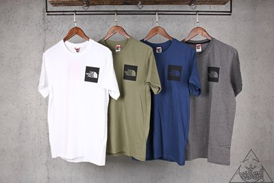 【HYDRA】The North Face Fine Logo Print Tee TNF 素面 短T【TNF14】