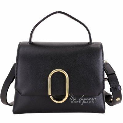 米蘭廣場 3.1 Phillip Lim Alix 金屬迴紋針造型手提肩背包(黑色) 1840256-01 台中市