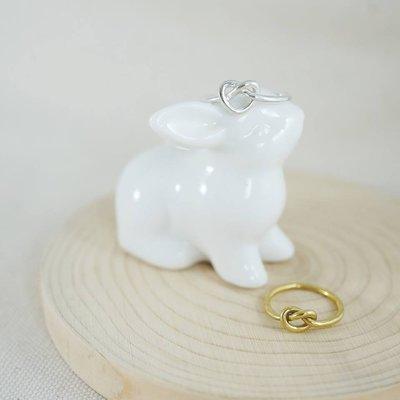 [ Cami Handicraft ] 麻花愛心造型戒指-純銀款 客製化手作商品 簡約精緻風格 OL日常穿搭必備