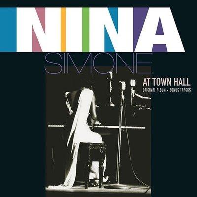 【黑膠唱片LP】市政廳演唱會 At Town Hall/妮娜西蒙 Nina Simone---VP80084