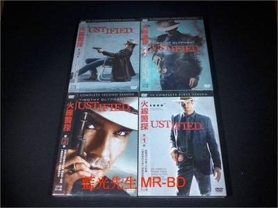 [DVD] - 火線警探 : 第 1-4 季 Justified 十二碟套裝版 ( 得利公司貨 )