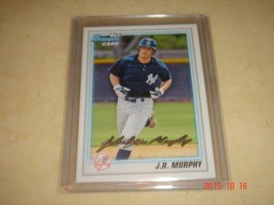 美國職棒 J.R. Murphy John Ryan Murphy  2010 Bowman Prospects 球員卡