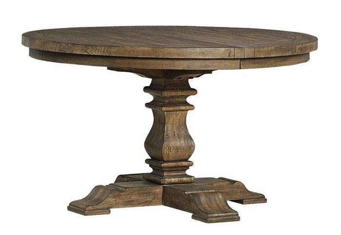 法式餐桌藝術 圓形拉台桌面 橡木餐桌 133x76.5cm