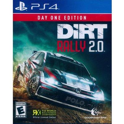 (現貨全新) PS4 大地長征:拉力賽 2.0 首日版 英文美版 DiRT Rally 2.0 Day 1