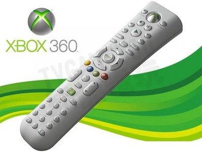 【二手商品】XBOX360 原廠多媒體遙控器 白色 長版 (裸裝)【台中恐龍電玩】