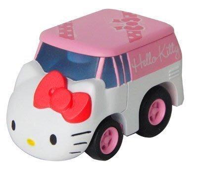 《東京家族》現貨日本TAKARA TOMY 凱蒂貓hello kitty 迴力車小汽車