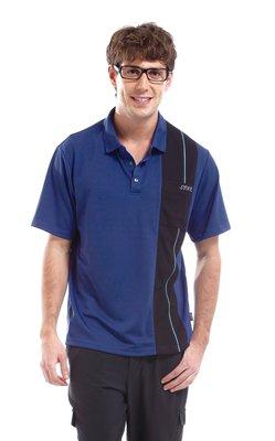 SPAR   男款吸濕排汗休閒運動POLO衫  R13360-1