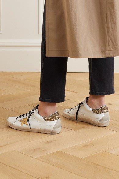 【代購】20春夏 Golden goose super star  金星星 亮片尾仿舊 增高 休閒鞋