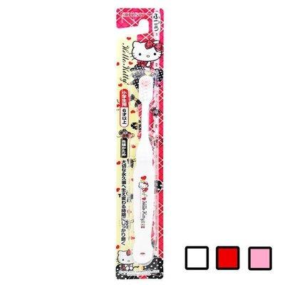 【seven健康小舖】【日本 EBISU Hello Kitty 6歲以上兒童牙刷 】顏色隨機出貨