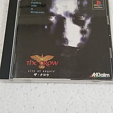 PS THE CROW city of Angels 烏鴉 中古品碟花1996 made in japan Action game