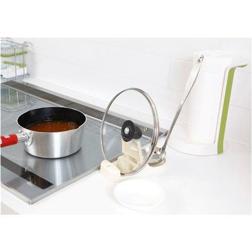 日本製 廚房萬用架 鍋蓋.手機.筷匙架