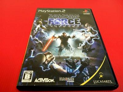 ㊣大和魂電玩㊣ PS2 星際大戰 原力解放 {日版}編號:R2-懷舊遊戲~PS二代主機適用